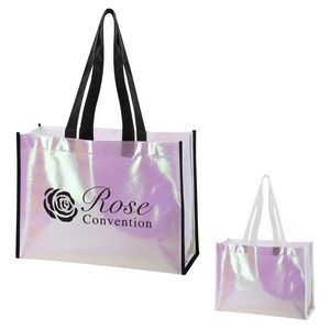 Mini Pearl Laminated Non-Woven Tote Bag