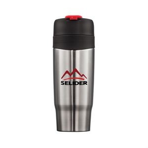 The Soho Double Walled Tumbler - 18oz Red