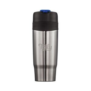 The Soho Double Walled Tumbler - 18oz Blue